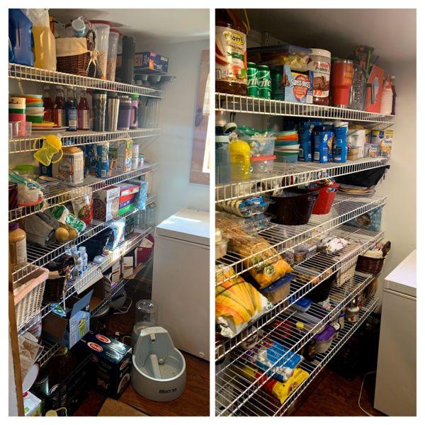 Pantry Reorganization